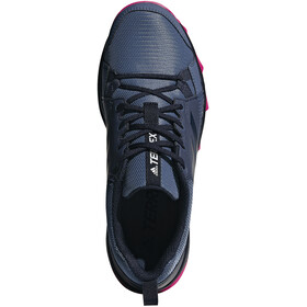 adidas TERREX TraceRocker Trail-Running Shoes Women Tech Ink/Trace Blue/Real Magenta